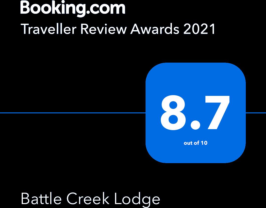 Booking.com Traveller Review Award Winner 2021