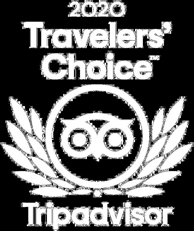Trip Advisor's Traveller's Choice Award for 2020